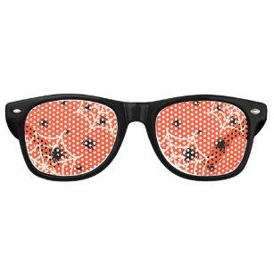 f1de37a3d136 Halloween Spiders on Web Retro Sunglasses