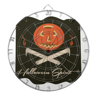 Halloween Spirit Flag Dartboard