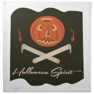 Halloween Spirit Flag Napkin