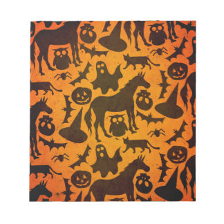 Halloween Spook Unicorn Notepad