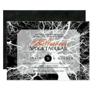 Halloween Spooktacular Party Invite