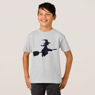 Halloween Spooky Black Witch Costume Tee Shirt