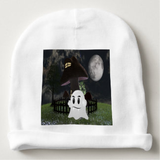 Halloween spooky ghost baby beanie