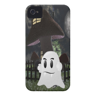Halloween spooky ghost iPhone 4 cover