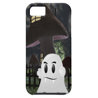 Halloween spooky ghost tough iPhone 5 case