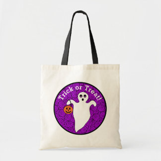 Halloween Spooky Ghost Trick-or-treat Tote Bag