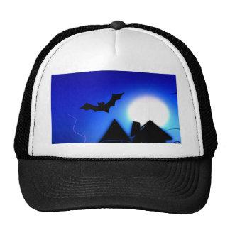 halloween spooky scary night hats
