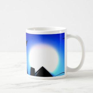 halloween spooky scary night coffee mug