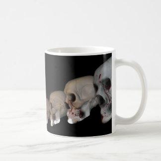 Halloween Spy Girl, Skulls and Skeletons Coffee Mug