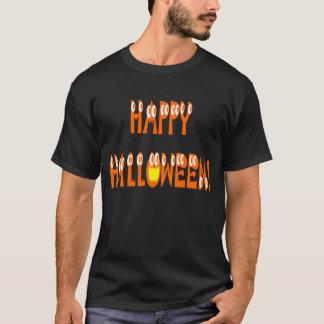 Halloween Squash Text T-Shirt