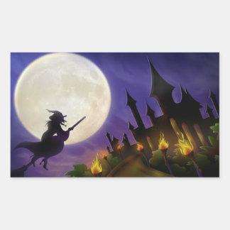 Halloween Rectangular Sticker