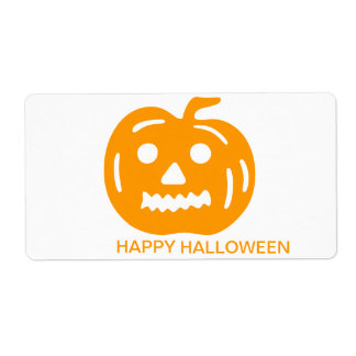 HALLOWEEN STICKER SHIPPING LABEL