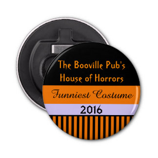 Halloween Stripes Contest Party Prize Bottle Opener