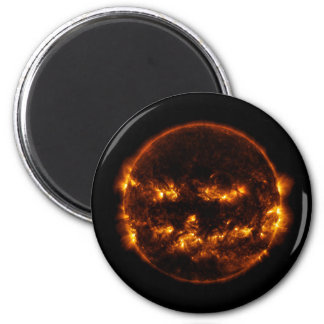 Halloween Sun/Jack-O-Lantern Magnet