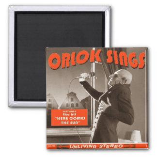 Halloween swag: Orlok Sings! Magnet