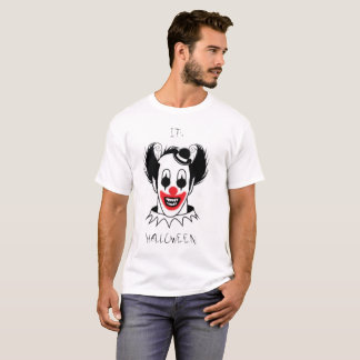 Halloween T-shirt Scary Clown