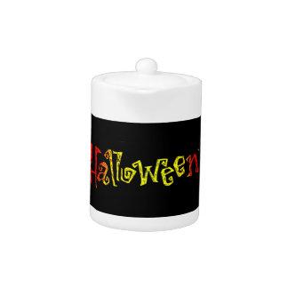 Halloween Tea Pot