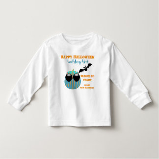 Halloween Teal Pumpkin Food Allergy Shirt