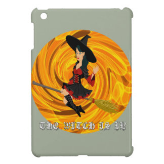 Halloween the witch is in iPad mini cases
