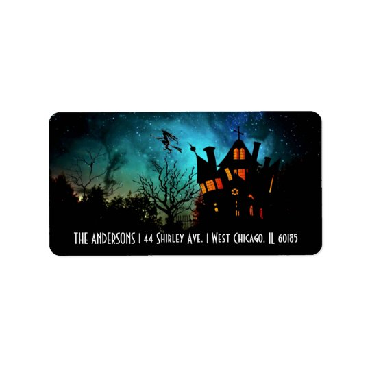 Halloween Theme Address Labels