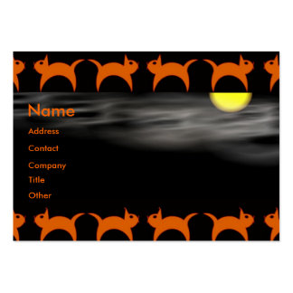 Halloween Time Business Cards