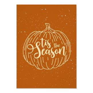Halloween Tis the Season | Invitation