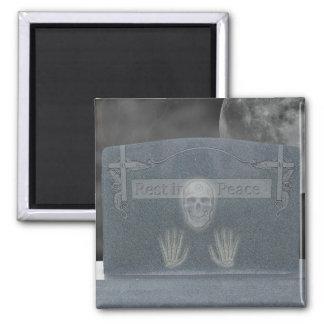 Halloween Tomb Stone Magnet