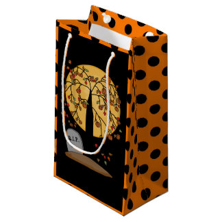 Halloween Tombstone Holiday small gift bag