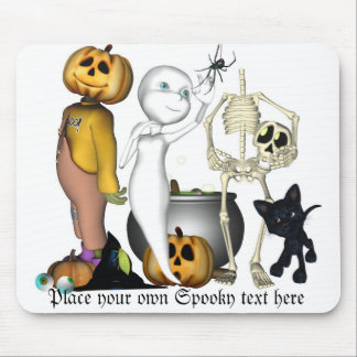 Halloween toon spooks mousepad customize it