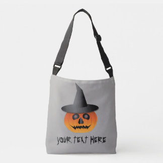 Halloween Tote/Candy Bag with Jack-O-Lantern