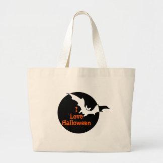Halloween tote jumbo tote bag