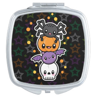 Halloween Treats compact mirror