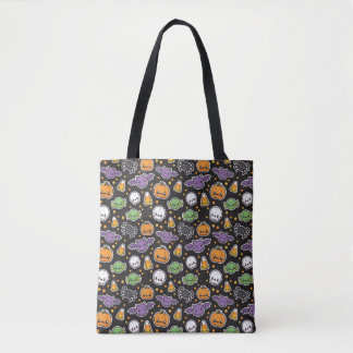 Halloween Treats pattern tote