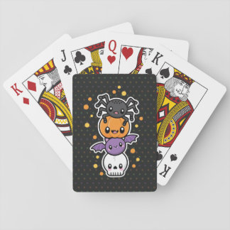 Halloween Treats playing cards