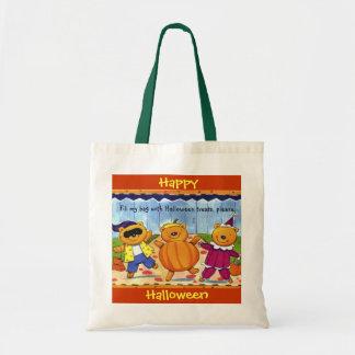 Halloween Treats, please Budget Tote Bag