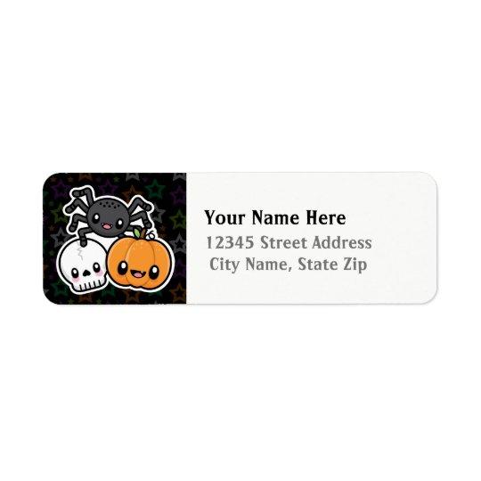 Halloween Treats return address labels