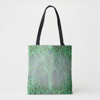 Halloween Trees on Tote Bag