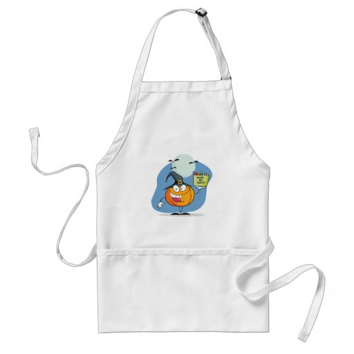 Halloween Trick or Treat Aprons