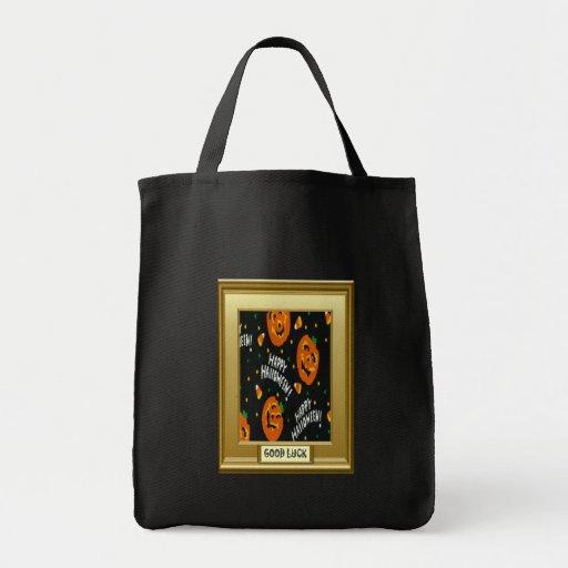 Halloween, Trick or treat Canvas Bag
