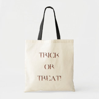 Halloween - Trick or Treat Bag