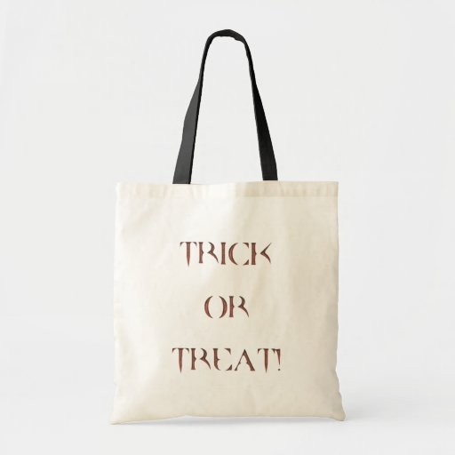Halloween - Trick or Treat Bag