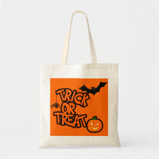 Halloween Trick Or Treat Tote Bags