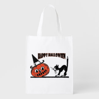 Halloween Trick Or Treat Bag Grocery Bags