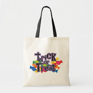 Halloween Trick or Treat bags! Budget Tote Bag