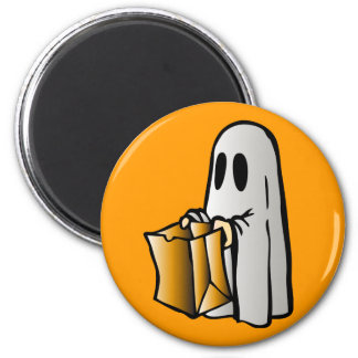 Halloween Trick or Treat Candy Ghost Magnets