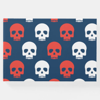 Halloween Trick or Treat Cute Skulls. Add Name. Guest Book
