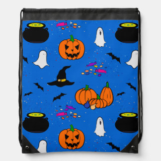 Halloween Trick or Treat Goodie Bag Drawstring Bags