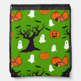 Halloween Trick or Treat Goodie Bag Drawstring Backpack