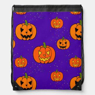 Halloween Trick or Treat Goodie Bag Drawstring Backpacks
