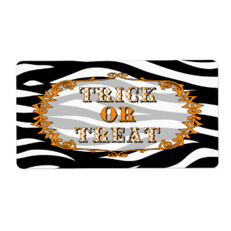 Halloween Trick or Treat Label Shipping Label